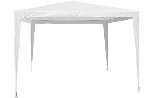 Garden Deluxe Cenador Impermeable 531420, 300x 200x 180cm, Blanco