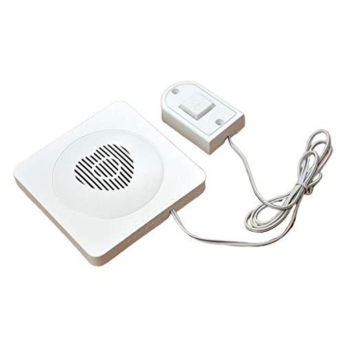 Amuzocity Paginador Del Cuidador Sistema de Llamada Inteligente Botones de Llamada de Emergencia/Transmisores Receptores
