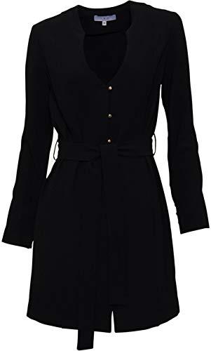 IRO Damen Kleid Sikte in Schwarz 40 FR/M