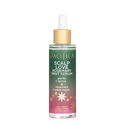 Pacifica Beauty Scalp Love Rosemary Mint Serum Purifies Revives Scalp Vegan CrueltyFree, Clear, 2 Fl Oz