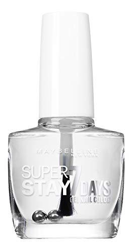 Maybelline New York – Vernis à Ongles Base Coat – Super Stay 7 Days – Base Transparente (25)