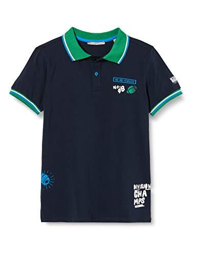 Mexx Jungen 951307 Poloshirt, Blau (Sky Captain 193922), 164 (Herstellergröße: 158-164)