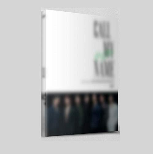 GOT7 Bel Mijn Naam Pre Bestel [B ver Mini Album CD, Fotoboek, Gevouwen Poster, Pre Bestel Voordeel met Extra Decoratieve Sticker Set, Clear Fotokaart