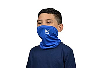 Mission Cooling Youth Neck Gaiter 6+ Ways to Wear Face Mask UPF 50 Cools When Wet- Mission Blue
