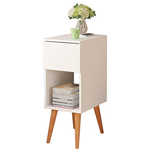 YULAN Nordic Sofa Side Cabinet Table de Chevet Salon Table Basse Cabinet Sofa Canapé Simple Petite Table Basse