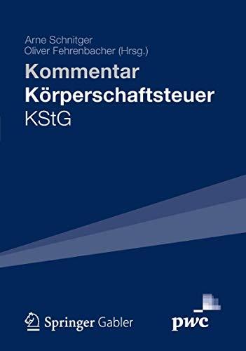 Kommentar Körperschaftsteuer KStG: Kommentar
