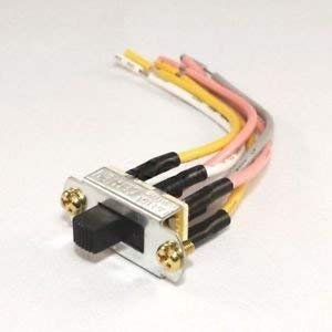 Canal Ceiling Fan Reverse Direction Slide Switch 6 Pin ZE-209-22 SL13B Well Tec
