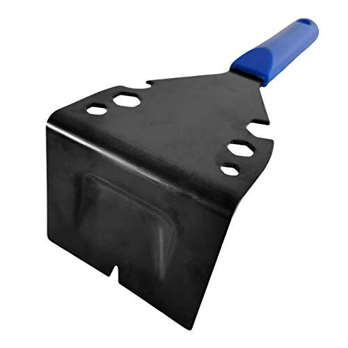 Barras de palanca para azulejos, fácil agarre, acero duradero para herramientas manuales de madera, multifuncionales con mango, extracción de clavos portátil para el hogar, azulejos, zócalos,e