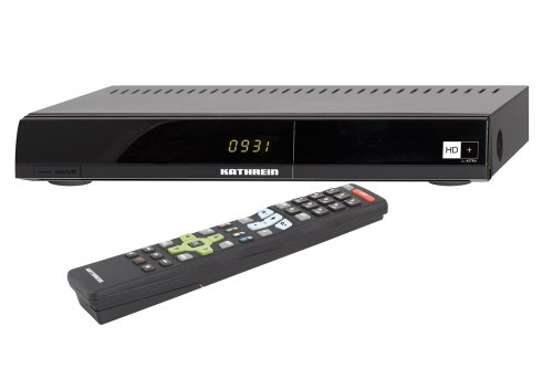 Kathrein UFS 931 Digitaler Satelliten-Receiver (CI-Schacht, HDTV, inkl. HD+ Karte für 1 Jahr) schwarz