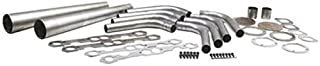 Small Block Fits Chevy Lake Style Header Kit, 1-5/8 Tube, 4 Inch Cone