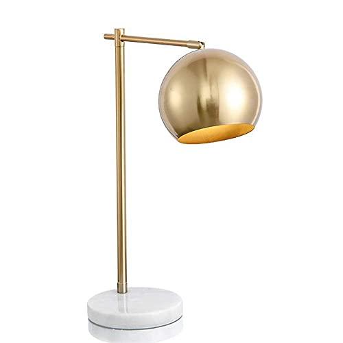 FURNITURE Table Lamp Vertical Bronze Table Lamp Simple Adjustable Angle Nordic Personality Modern Living Room Bedroom Bedside Reading Light 40 56Cm Gold Desk,Upgrade