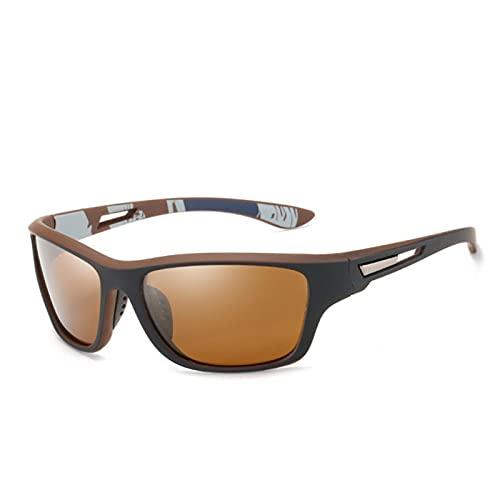 UKKD Gafas De Sol Mujer Vintage Hombres Gafas De Sol Polarizadas Para Hombres Deportes Al Aire Libre A Prueba De Viento Gafas De Arena Classic Driving Gafas De Sol Protección Uv