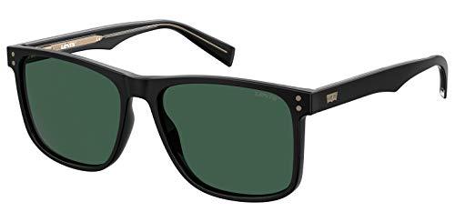 LEVI'S EYEWEAR LV 5004/S Gafas, Black, 57 para Hombre