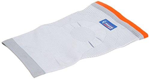Kniebandage von Thuasne Sport - Weiß/Orange - Größe XL