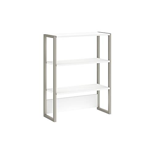 Bush Business Furniture Office by kathy ireland Method Bookcase Hutch, White