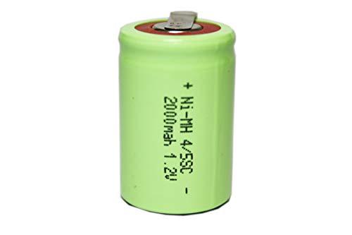 正規容量 国内から発送 22.5x34mm NI-MH 4/5 SC ニッケル水素 セル タブ付 エアガン 電動ガン ドライバー ドリル 工具 掃除機 インパクト 充電池 バッテリー