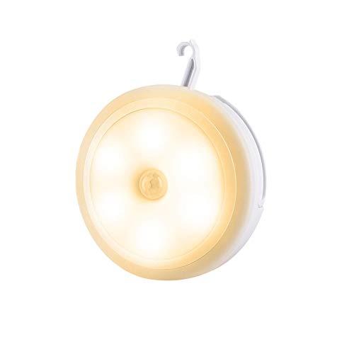 Enjoyyouselves LED Night Light Body Induction Motion Sensor Night Light USB Charging Wireless Cabinet Lamp for Hallway Bathroom Cupboard, Wardrobe, Hallway, Stairs