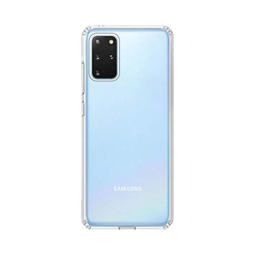 Amazon Brand – Solimo Mobile Cover (Soft & Flexible Back case) Transparent for Samsung Galaxy S20 Plus