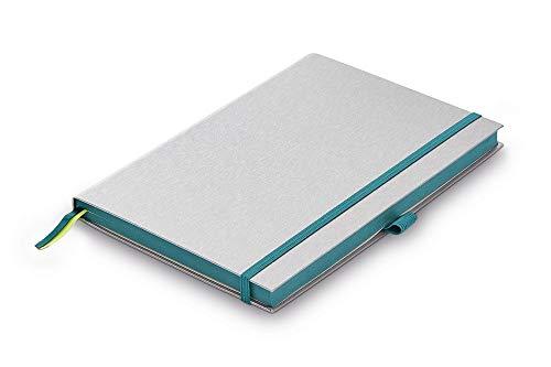 LAMY paper Notizbuch – Hochwertig verarbeitetes Notizbuch in der Farbe Turmaline mit tintendurchschlagsfestem Papier – 90g/m2 DIN A5