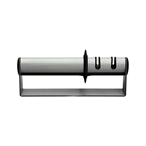 Zwilling J.A. Henckels 32601-003 ZWILLING TWINSHARP Duo Stainless Steel Handheld Knife Sharpener, 9.5', One Color