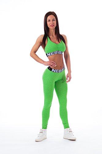 NEBBIA dameslegging sport leggings dames fitnessbroek 222