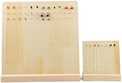 28 66 Holes Free shipping on posting reviews Earrings Shelf Display Holder Shape Rectangl L Max 74% OFF Stand