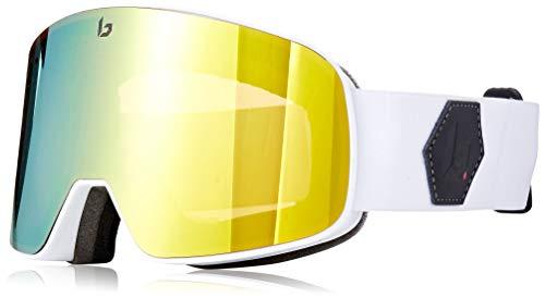 BOLLÈ Nevada Skibrille, weiß, Einheitsgröße