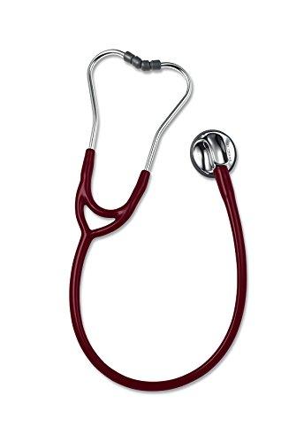 ERKA. Sensitive Stethoskop mit burgundfarbenem Schlauch
