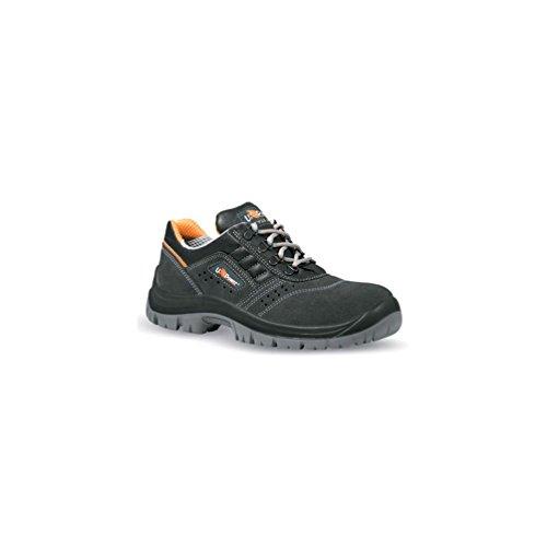 U POWER BC20035-46, BC20035-46-Calzado de seguridad gama Style&Job Modelo ROTATIONAL S1P SRC Talla Unisex-Adulto, Nero, 46 EU