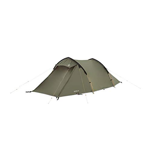 OEX Jackal III Lightweight Tunnel Design 3-Person Tent, Olive, One Size