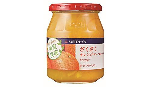 明治屋『マイジャム果実実感ざくざくオレンジマーマレード』