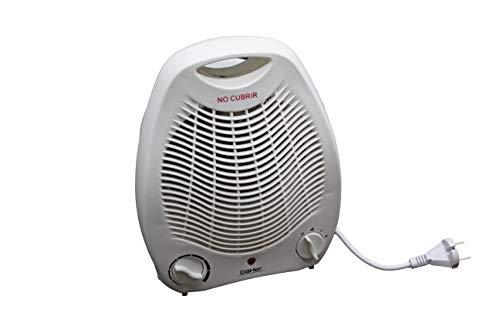 PRENDELUZ Calefactor Aire Vertical con Sistema de protección de sobrecalentamiento.