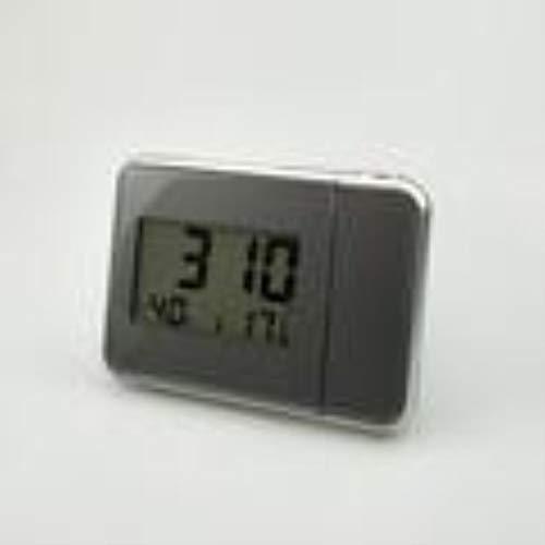 zyr Time Watch Multifunktions-Digitalwecker Farbbildschirm Desktop-Uhr Wetterkalender Zeitprojektion, 03
