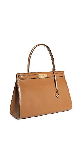 Tory Burch Women's Lee Radziwill Bag, Moose, Tan, Brown, One Size