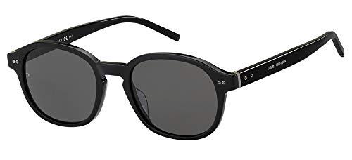 Tommy Hilfiger Gafas de Sol TH 1850/G/S Black/Grey 54/21/150 hombre