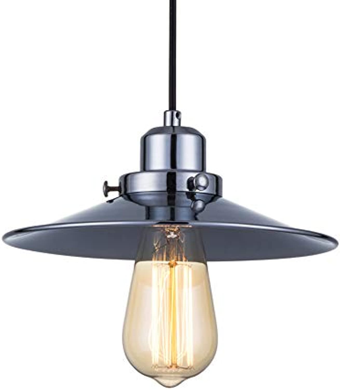 Jodie Bernol E27 LED Droplight Retro Kreativ Buffet Restaurant Einzelkopf Droplight Wenig Schwarzes Kleid Kronleuchter Deckenleuchten (Farbe   Warmwei, Gre   AC 220V)