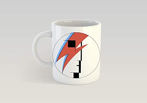 Taza de café Bauhaus Ziggy Stardust de 11 oz David Bowie Goth Deathrock Glam The Cure Joy Division Post Punk New Wave
