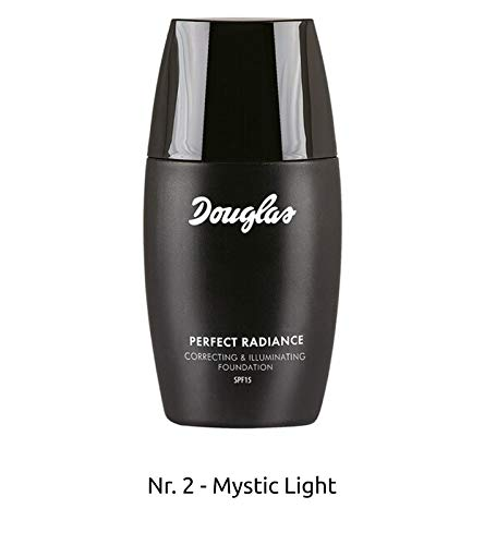 Douglas SPF 15 Make-Up Perfect Radiance Foundation 30 ml Grundierung flüssige Creme Mystic Light