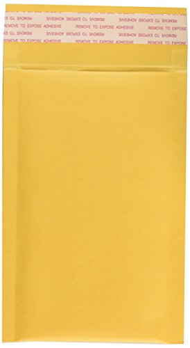 EcoSwift 50 Size #0000 4x6 Small Kraft Bubble Mailers Self Sealing Bulk Padded Shipping Supplies Packaging Materials Envelopes Bags 4 x 6 inches