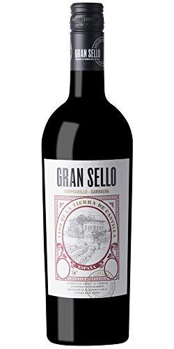 Rotwein Gran Sello Tempranillo Garnacha 6 Flaschen Box VT La Mancha 75cl
