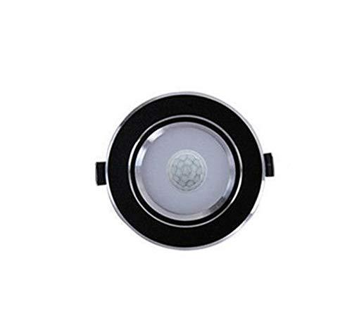 yywl Downlight De Techo del LED Smart Home Sensor de Movimiento hacia Abajo del Panel luz 5W 7W 9W 12W for Pasillo Escaleras Depot Sala Infantil Lámparas