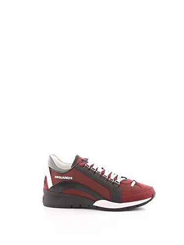 DSQUARED2 - Sneakers high sole bordeaux/schwarz #m176 SNM0505 11702720 M176 43