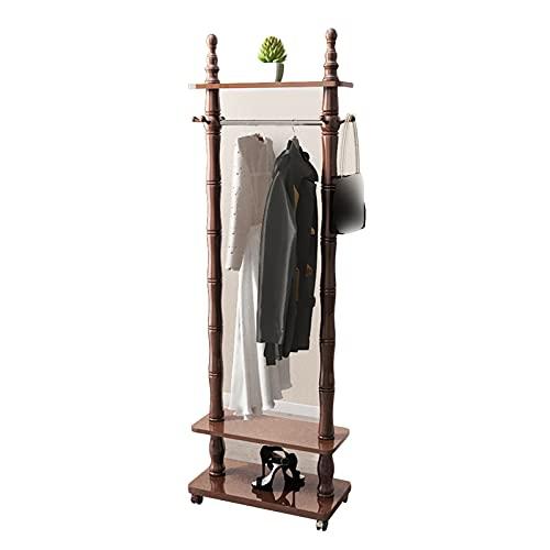 LM-Coat rack XINGLL Percheros Pie Perchero, Muebles Capacidad Extra Grande, Estante Organizador Almacenamiento Sombreros Zapatos para Ropa, Pasillo, Entrada, Dormitorio, Fácil Acceso