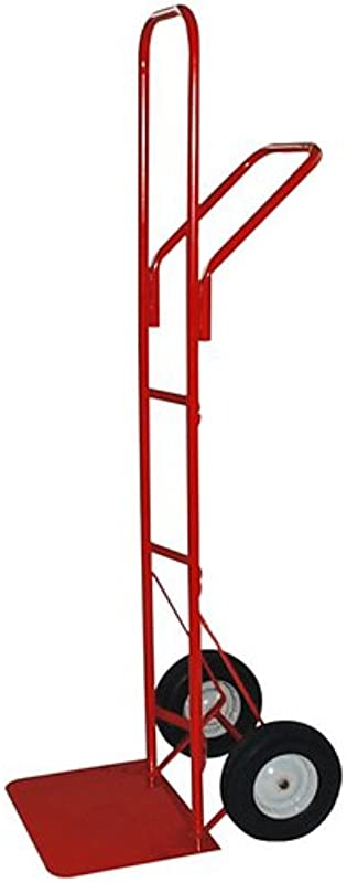 Milwaukee Hand Trucks 40127 High Stacker Frame With X Large Toe Plate And 10 Inch Puncture Proof Tires And Steel Hub