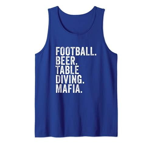 Rechnungen Fußball-Mafia, Buffalo New York Sportfan Tank Top