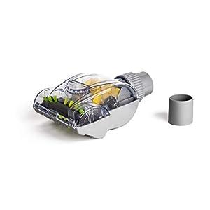Green Label Cepillo Mini Turbo Universal (32-35 mm) para Retirar Pelo de Mascota de Tapicería. Compatible con Hoover, Dirt Devil, Samsung, Electrolux, Panasonic, Kirby, etc.