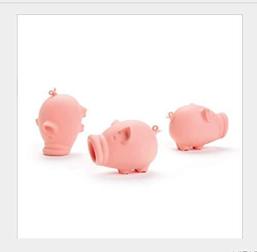 N/P AOLIAY Silikon-Schwein Ei-Trenner, Weiß, 3 Stück