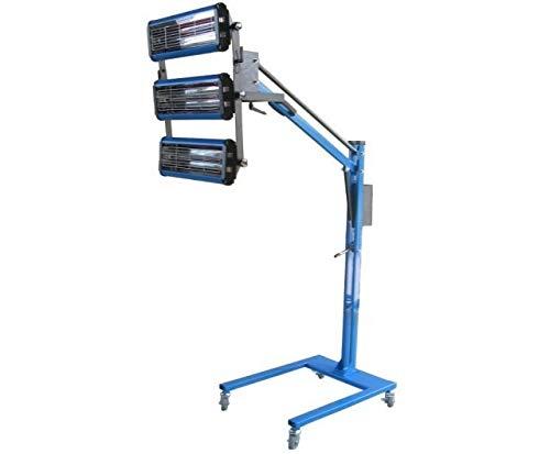 IR-Lacktrockner 3 Lampen 3000 W 230 V RP-S3000 Infrarotstrahler Heizstrahler