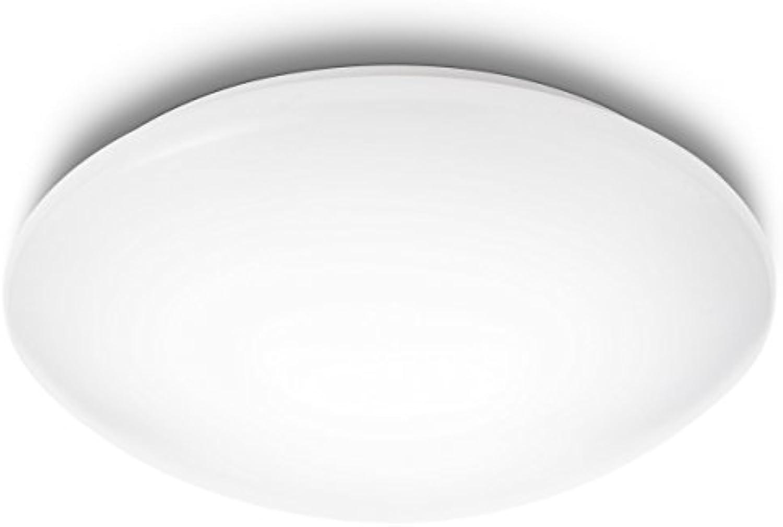 Philips myLiving Suede Innenraum 2.4W wei Deckenbeleuchtung–Lampe (Schlafzimmer, Wohnzimmer, innen, wei, IP20, gebürstet, rund)