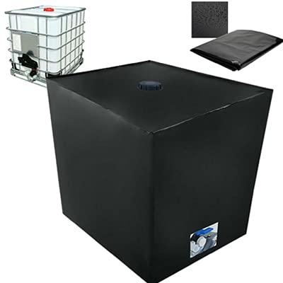 Bâche de réservoir deau, Bache pour Cuve 1000 L IBC, Anti-poussière Anti-UV Anti-Pluie (116 x 100 x 120 cm)